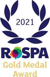 ROSPA gold medal award 2021
